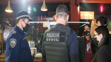 Covid-19: fiscalização interrompe festa com 620 pessoas em São Paulo