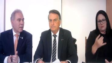 Presidente Jair Bolsonaro faz apelo para população economizar energia