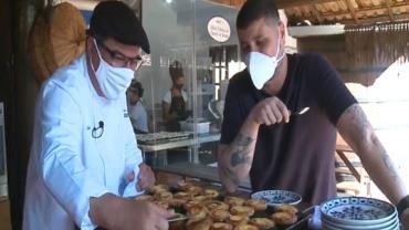Desvendando Cozinhas: Raul Lemos visita restaurante de culinária portuguesa no programa desta segunda-feira (13)