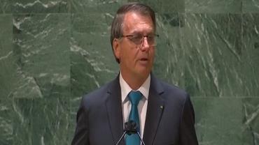 Bolsonaro destaca avanço da vacinação em Assembleia Geral das Nações Unidas; assista