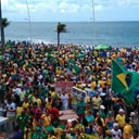 Veja fotos das manifesta��es de 13 de mar�o pelo pa�s