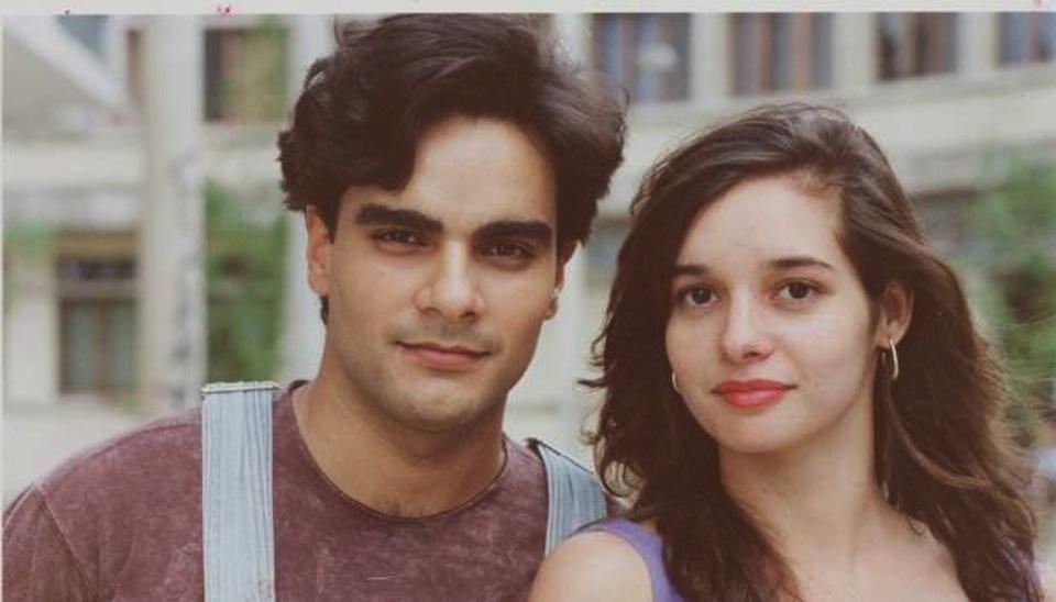 """Daniella Perez, assassinada pelo ator Guilherme de Pádua (também na foto) durante a novela """"De Corpo e Alma"""" (1992)"""