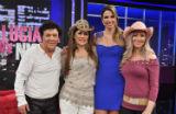 Luciana Gimenez recebe Wanderley Cardoso - 30/09