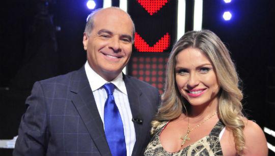 Marcelo posa com Renatinha