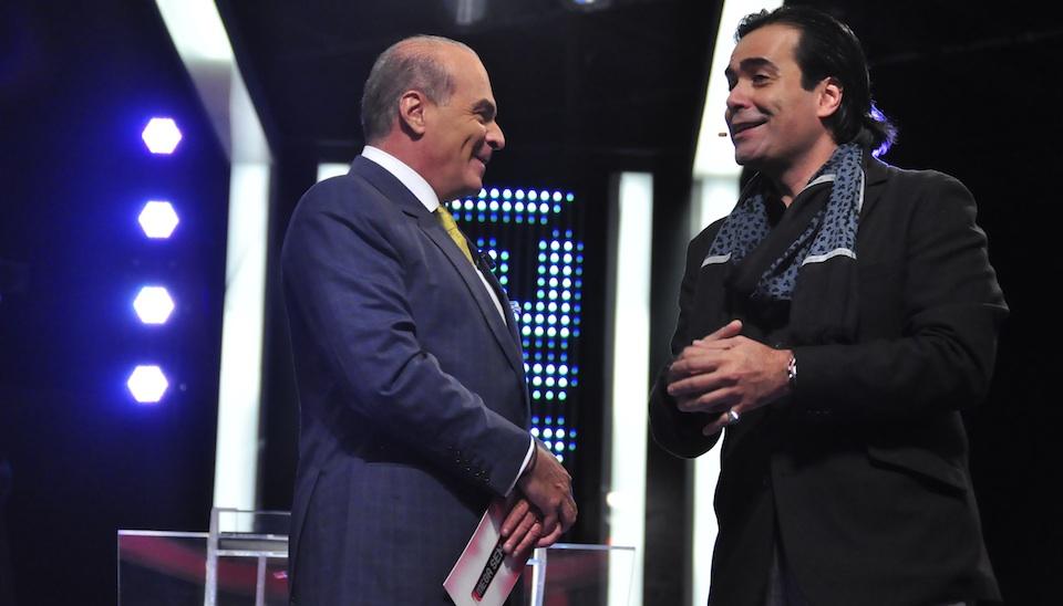 Marcelo conversa com F�bio Arruda, que vai apresentar o programa 'The Bachelor'