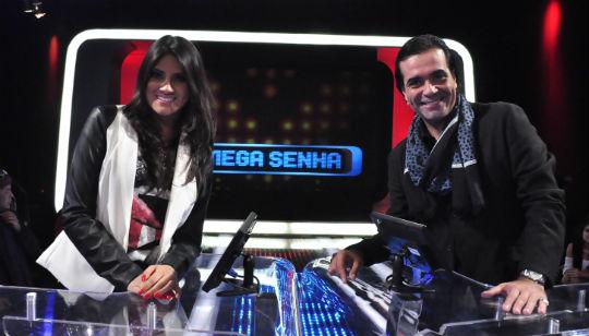 Hellen Caroline e F�bio Arruda s�o os convidados do Mega Senha