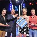 Joana Machado e a dupla Jorge Henrique e Rodrigo se encontram no Mega Senha