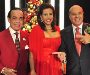 Mega Senha recebe Narcisa Tamborindeguy e Chiquinho Scarpa