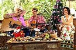 Faa Morena recebe Edson e Hudon no especial de Natal