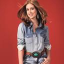 Marina Ruy Barbosa exibe pern�es em campanha de moda