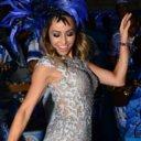 Beldades se esbaldam no samba em aquecimento para o Carnaval 2015