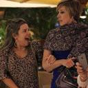 Fernanda Souza se diverte com Claudia Raia em passeio no shopping