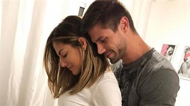 Mari Gonzalez anuncia gravidez no Dia Mentira e deixa fãs em dúvida
