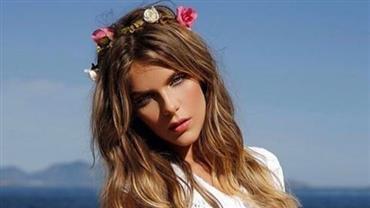 """Isabella Santoni publica foto deslumbrante com os fios longos: """"saudades do cabelão"""""""