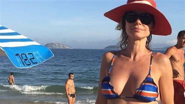 """Dona de corpão aos 50 anos, Paula Burlamaqui fala de """"vício"""" em exercícios"""