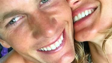 Gisele Bündchen faz homenagem de aniversário para Tom Brady