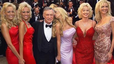 Confira as 5 'coelhinhas' mais polêmicas que dividiram mansão com fundador da Playboy