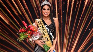 Conheça Mayra Dias, do Amazonas, eleita Miss Brasil 2018