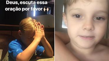 Davi Lucca celebra vitória do Brasil após orar por Neymar