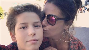 Giovanna Antonelli se derrete de amor por seu filho com Murilo Benício