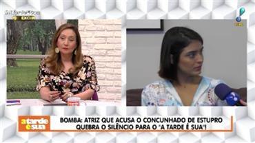 """Letícia Almeida acusa ex-concunhado de estupro: """"Só tomei ciência dois dias depois"""""""