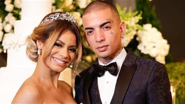 Bodas de papel! Lexa e Mc Guimê comemoram primeiro aniversário de casamento