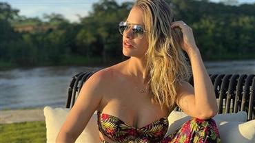 """Andressa Suita troca próteses de silicone e dá detalhes: """"Muito feliz com meus peitos novos"""""""