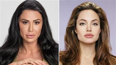 Gracyanne Barbosa é comparada com Angelina Jolie e dá resposta