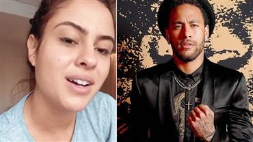 """Ex-BBB Hana Khalil sobre Neymar: """"Até que a Justiça prove o contrário, ele é estuprador"""""""