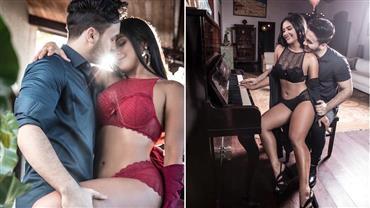 Ex de Wesley Safadão, Mileide Mihaile surge com novo namorado em ensaio quente
