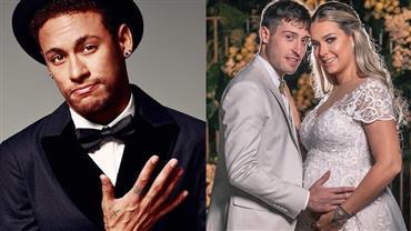 """Neymar parabeniza Carol Dantas por casamento: """"Que Deus cuide do amor de vocês"""""""