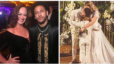 """Mãe de Neymar faz homenagem para Carol Dantas após casamento: """"Sejam muito felizes"""""""