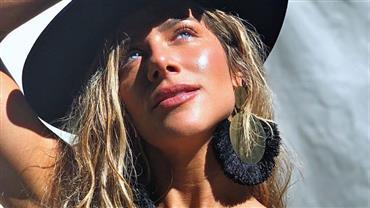 Bruno Gagliasso clica Giovanna Ewbank de biquíni e brinca sobre talento como fotógrafo