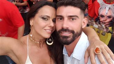 Ex de Viviane Araújo, Radamés pede palpites para nome e filha e internauta provoca