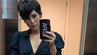 """Magra demais? Fernanda Paes Leme exibe cinturinha e Paulo Vilhena brinca: """"Tá sumindo"""""""