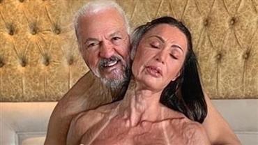 Gracyanne Barbosa brinca com filtro de envelhecimento ao lembrar momento íntimo com Belo