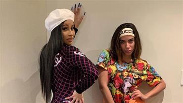 """Anitta celebra parceria com Cardi B: """"O funk virou um grande time"""""""