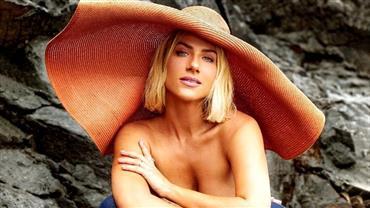 """Giovanna Ewbank posa de topless em Fernando de Noronha: """"Levar a vida mais leve"""""""