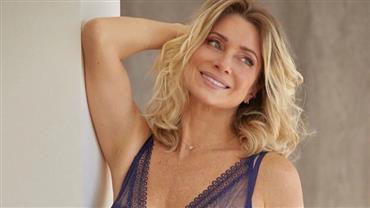 """Aos 46 anos, Letícia Spiller posa de lingerie e fã dispara: """"Tapa na cara das novinhas"""""""