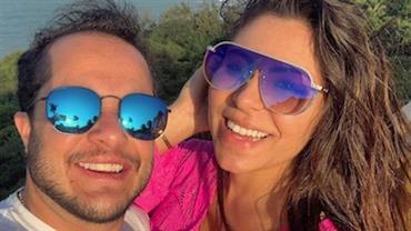 Grávida, Andressa Ferreira mostra barrigão e comentário sobre Thammy Miranda gera reações