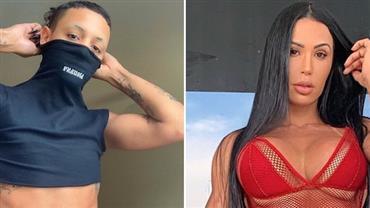 """Pabllo Vittar ostenta abdômen sarado e Gracyanne Barbosa reage: """"Delicinha"""""""