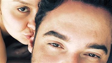 """Fernando Zor mostra momento íntimo com Maiara: """"largados e pelados"""""""