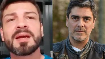 Suposto filho de Junno Andrade diz estar decepcionado com o apresentador e ainda aguarda exame de DNA