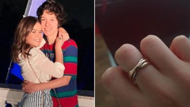 Maisa completa dois anos de namoro e ganha anel de R$ 4,7 mil