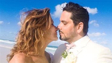 """Ex-BBB Ieda se casa advogado 36 anos mais novo: """"Momentos para tudo"""""""