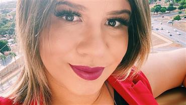 Marília Mendonça encanta fãs ao postar nova foto do filho recém-nascido