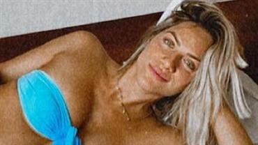 """Bruno Gagliasso mostra barriguinha de grávida de Giovanna Ewbank: """"Plenitude"""""""