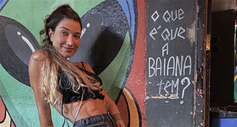 Marido elogia bumbum de Gabriela Pugliesi em foto e seguidora debocha: ''Não existe''