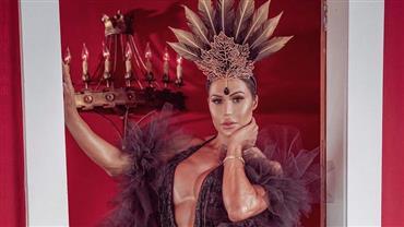 Gracyanne Barbosa gera polêmica ao posar com fantasia e rebate críticas