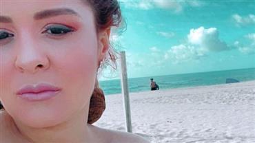 """Maiara posa em praia de nudismo em Miami e deixa fãs na imaginação: """"Quero ver mais"""""""